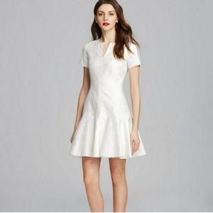 Rebbeca Taylor White Floral dress size 4